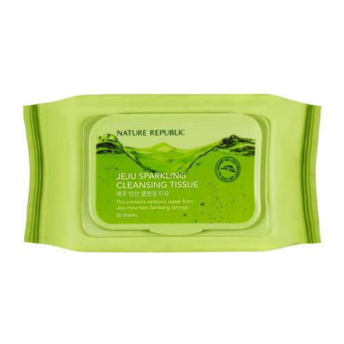 Nature Republic Jeju Sparkling Cleansing Tissue Miss Eco