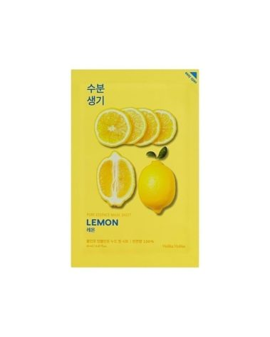 Holika-Holika-Pure-Essence-Mask-Sheet-Lemon-Miss-Eco