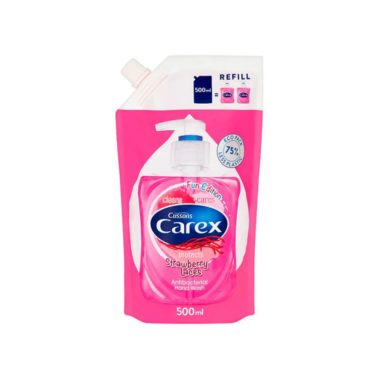 Carex-Strawberry-Laces-Antibacterial-Hand-Wash-Refill-Miss-Eco