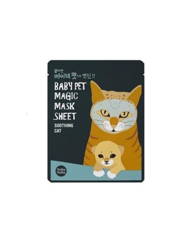 Holika-Holika-Baby-Pet-Magic-Mask-Sheet-Soothing-Cat-Miss-Eco