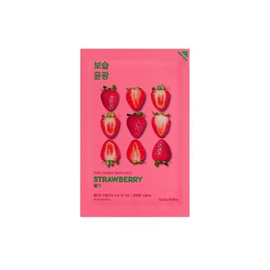 Holika-Holika-Pure-Essence-Mask-Sheet-Strawberry-Miss-Eco