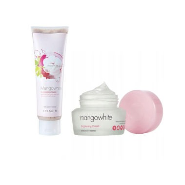 It's Skin MangoWhite Brightening Cream 50 ml + It's Skin MangoWhite Cleansing Foam Čistiaca Rozjasňujúca Pena 150 ml